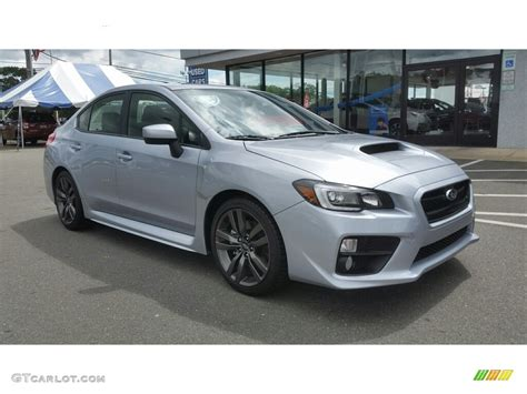 silver subaru wrx 2017 silver metallic subaru wrx limited 114301241