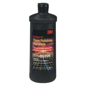Machine 3m 5996 Pad Glaze 3m Step 2 3m 5996 1 quart it foam polishing pad glaze