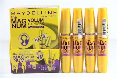 Maskara Maybelline The Magnum Volume toko kosmetik dan bodyshop 187 archive mascara