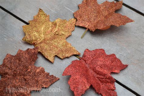 lutece wallpaper glitter trees foliage glittered fall leaves diy typically simple