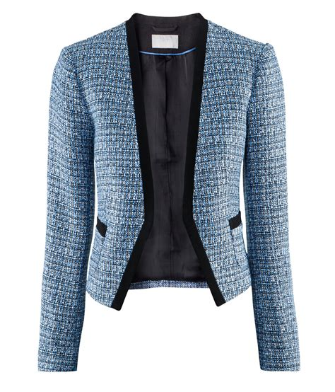M Blazer tweed boucl 233 jacket style