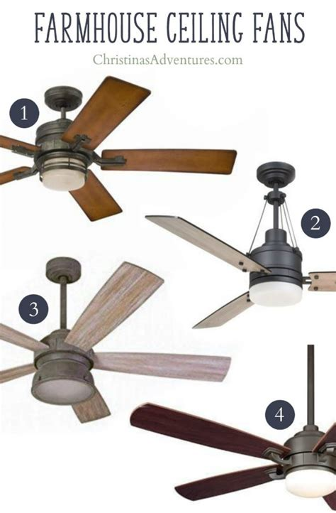 farmhouse ceiling fan where to buy farmhouse ceiling fans christinas adventures