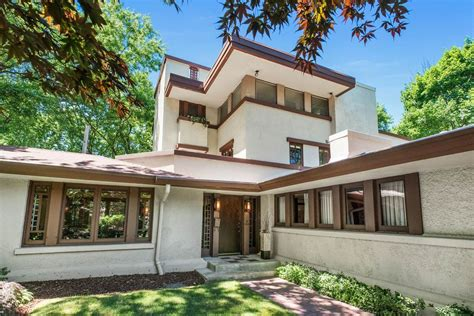 frank lloyd wright inspired homes wall best house plans