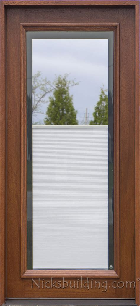 Exterior Door With Built In Blinds Blinds Between Glass