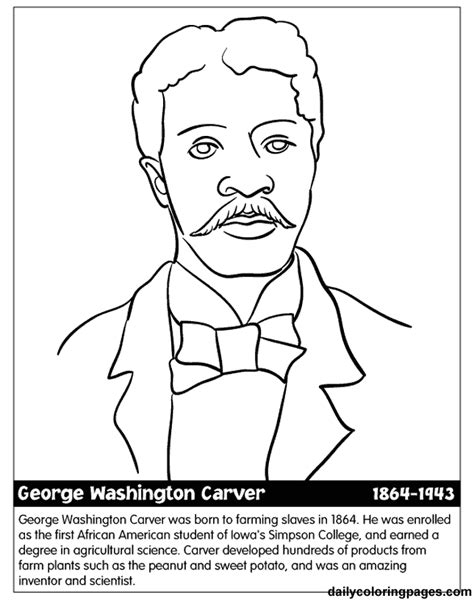 coloring pages us history united states black history month coloring pages