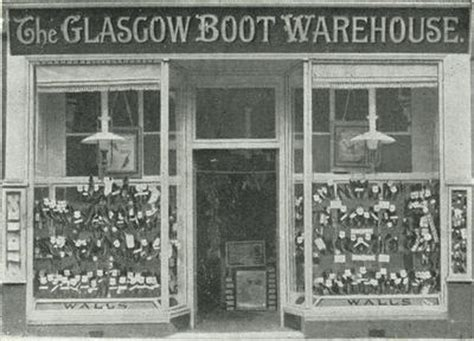 boat shop glasgow theglasgowstory glasgow boot warehouse
