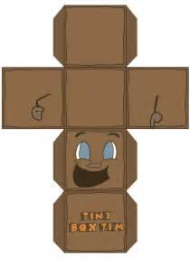 Tiny Box Template by Markiplier Tiny Box Tim Plush Tiny Box Tim 3d Box