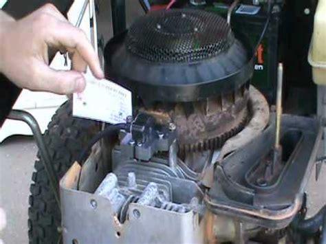 briggs  stratton coil armature magneto repair  spark