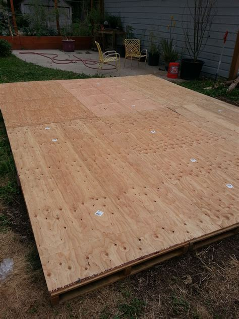 how to build floor creating a dance floor from recycled pallets our