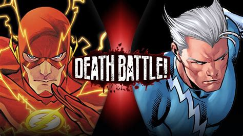 movie quicksilver vs flash flash vs quicksilver marvel vs dc death battle youtube