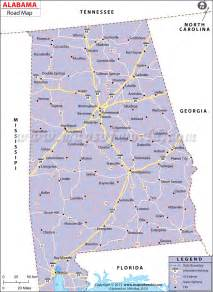 road map of alabama and road map of alabama my