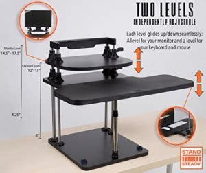 affordable sit stand desk most affordable sit stand desks sit stand desk conversion