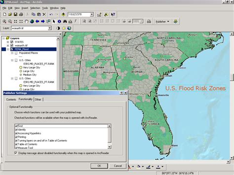 arcgis layout tools arcgis publisher publishing
