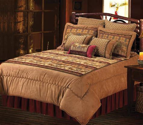 moose comforter sets chenille suede moose comforter set interiordecorating