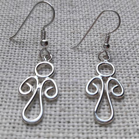 Silver Earrings Handmade - handmade silver earrings bg silversmiths