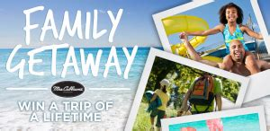 Mrs Cubbison S Sweepstakes - mrs cubbison s family getaway sweepstakes win a vacation package worth 5 000