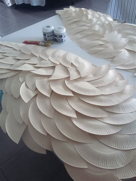 How To Make A Paper With Wings - diy wing mantel makeover the creative studio
