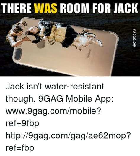 Meme Gag - there was room for jack jack isn t water resistant though
