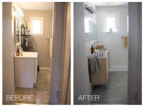 Diy Bathroom Remodel Before And After Emily Winters The Very Merry Bathroom Reveal Made Remade