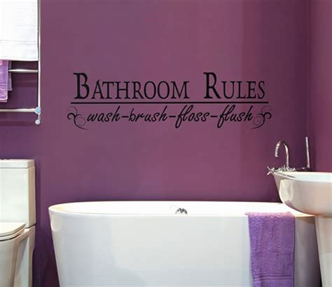 bathroom slogans creative and fun bathroom quote wall stickers amazing