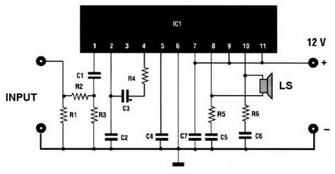 Power Lifier Audio Mobil 20w transistor audio lifier circuit diagram wiring diagram