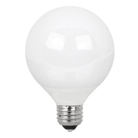 Utilitech Light Bulbs by Utilitech 2 Pack 12 Watt G25 Medium Base Daylight 6500k
