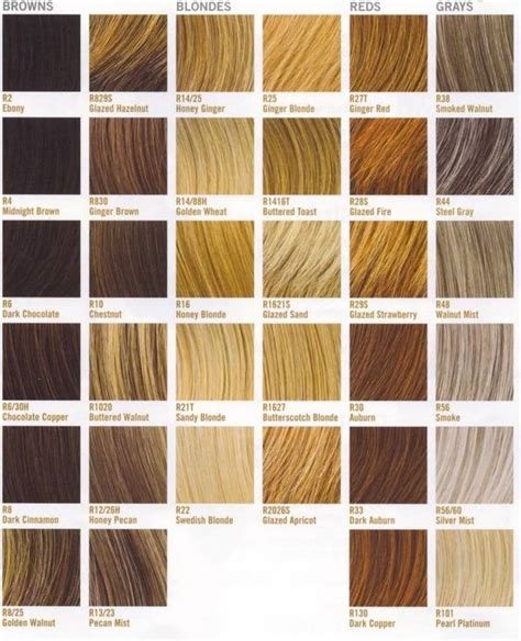 hair color types hair color ideas finding the best hair color for you