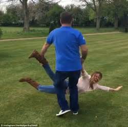 getting your wife to swing geri horner s husband christian slaps her bottom daily