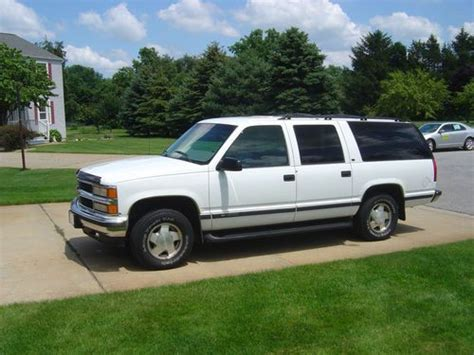 auto air conditioning service 2011 chevrolet suburban 1500 parental controls sell used 1999 chevy suburban lt 1500 4wd in la porte indiana united states