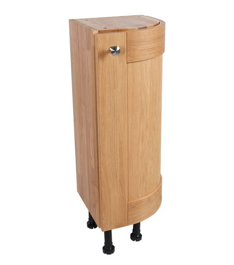 solid oak kitchen cabinets solid oak kitchen curved base cabinet h720mm x w300mm x