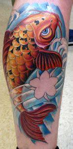 new school koi tattoo johnny berrios koi