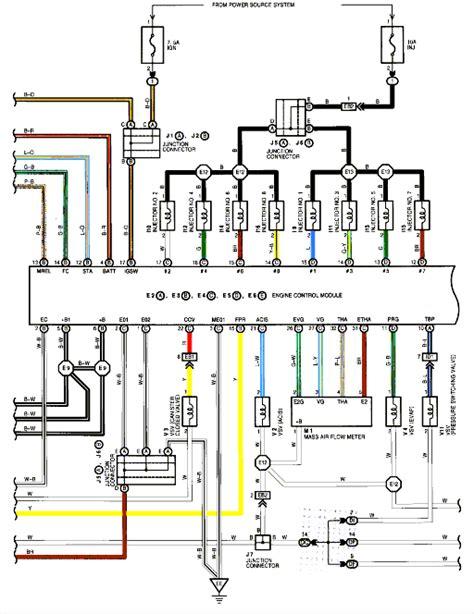 Need Wiring Diagram For Maf Sensor In A 2001 Lexus Ls430
