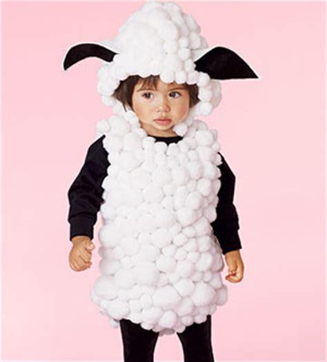 Handmade Sheep Costume - last minute costumes
