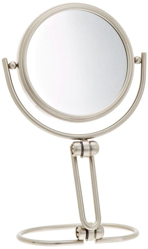 makeup mirror stand with lights amazon com jerdon mc315n 3 inch folding travel mirror