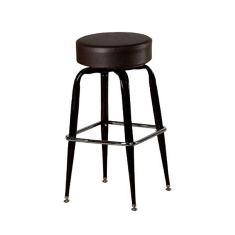 Flat Stool by Oak Sl2135 Esp Swivel Bar Stool Backless Upholstered Button Top Seat Imported Flat