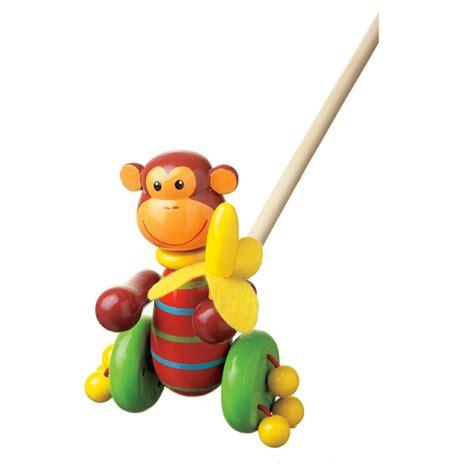 Green Bedroom Paint Ideas wooden push along monkey by orange tree toys