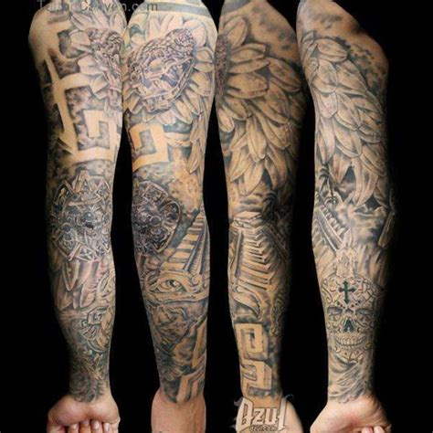 angel tattoos sleeves designs fallen sleeve images designs