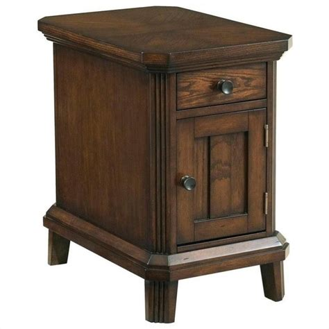 Broyhill Side Table by Broyhill Estes Park Chairside End Table In Artisan Oak 4364 004