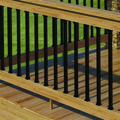 Black Deck Balusters Object Moved