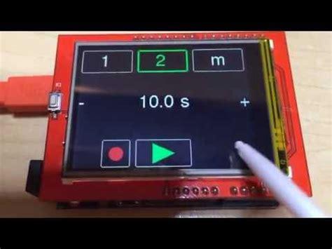 arduino uno 24 tft lcd spfd5408 with modified utft analog clock arduino uno 2 4 lcd tft spfd5408 аналогов