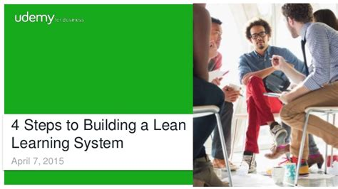 7 Steps To Getting A Leaner This Summer by 4 Steps To Building A Lean Learning System
