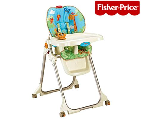 Rainforest Fisher Price High Chair Fisher Price Rainforest Healthy Care High Chair Sales