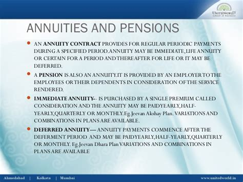 Mba Defferd Annuity Rates by Insurance