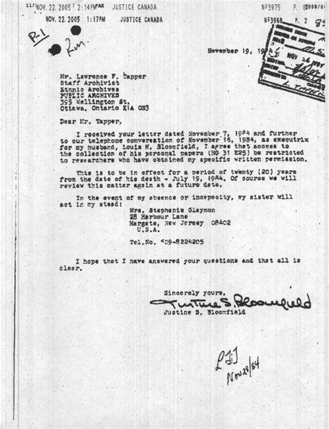 Contract Prolongation Letter i some secrets for you the bloomfield archives is