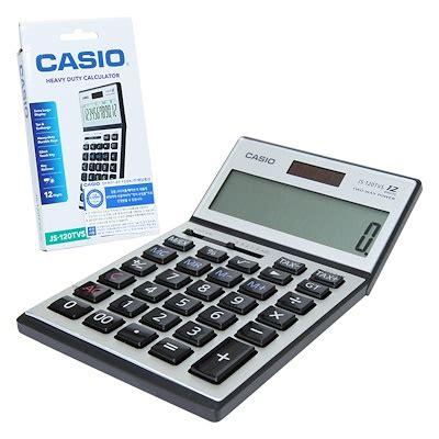Casio Calculator Js 120tvs Sr qoo10 casio js 120tvs sr heavy duty desk calculator