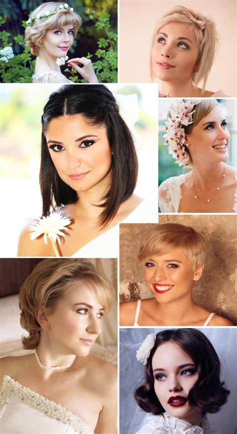 Brautfrisuren Kurzes Haar by Brautfrisuren F 252 R Kurze Haare Tipps Beispiele