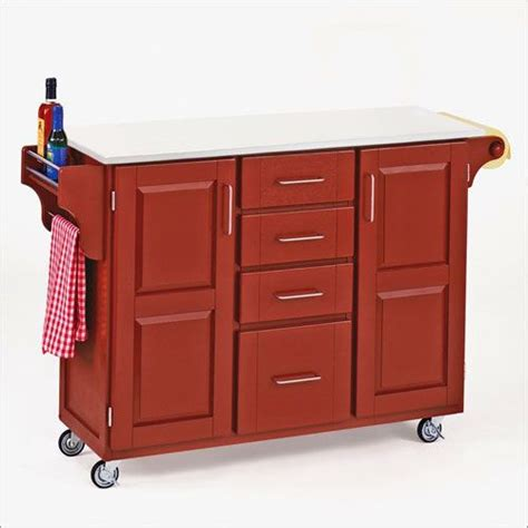red kitchen island cart pin by elizabeth mitchell on furniture pinterest