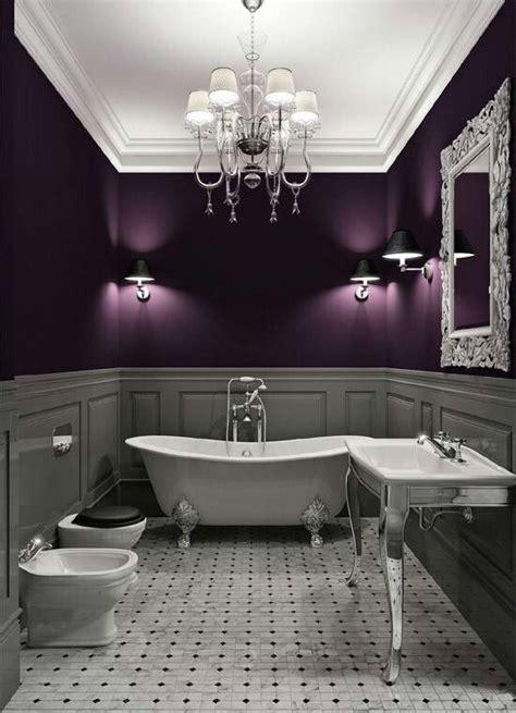 Purple And Silver Bathroom » New Home Design