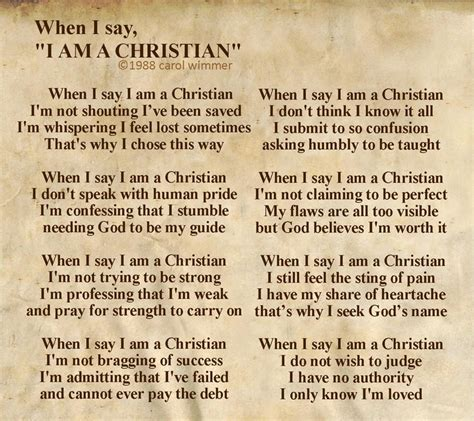 Why I Am A Christian i am a christian quotes quotesgram