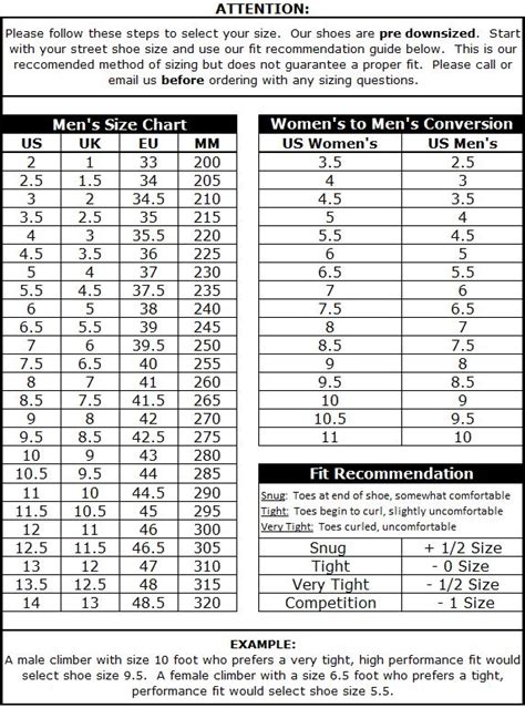 climbing shoe sizes climbing shoe sizing 28 images rock climbing and your